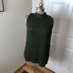NWT Candies Army Green Tank Top